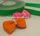 Fashion hair butterfly bowknot with pearls
