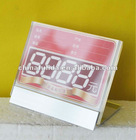 Acrylic price holder/display price tag