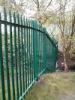 palisade fence,steel fence