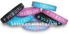 rubber silicone wristband