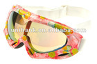 New style popular 2012 anti-fog protective snow glasses for woman