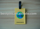 3d/2d custom soft pvc luggage tag,custom 3d/2d soft pvc handbag/bag tag. beg label