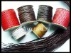 waxed cotton cord, cotton rope