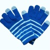 acrylic smartphone gloves