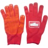 13gauge blue or red nylon working gloves