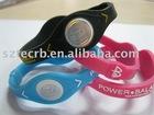 Stylish silicone power bracelet