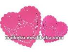 MKK Food Grade Heart Shaped Paper Doily