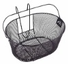 Hanging mesh wire basket