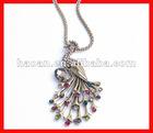 2012 The Latest New antique peacock pendant set wholesale ACJ-005