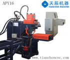 Semi-Automatic CNC Angle Machine of Punching and Marking Model AP16
