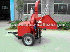 CE certificate Diesel wood chipper with hydraulic feeding system
