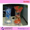 Foldable PVC flower pot,PVC vase unbroken,Eco friendly material PVC,LOGO design good for promotion and gift item