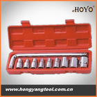 10pcs Socket wrench, metric socket tools set