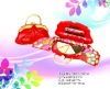 beautifull cosmetic bag make up kit Miss Rose 7002-205M