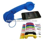 Retro Handset high quality audio speakers and micropgone for iPhone4&4s and ipad2 and BB phone