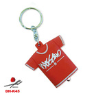 2012 popular cute T-shirt shape keychain