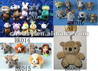 2012 new hot plush animal keychain