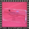 Silk screen printing perspex block