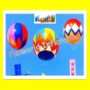 Outdoor colorful advertising flying helium inflatable balloon(bal-78)