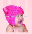 hand knitted hat HT9005H