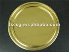 round tin box bottom lid (best quauty)