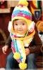 CDH012 Children's knitted hat in winter