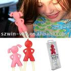 Cute Silicone Chopsticks Kids holder Plastic learning chopsticks