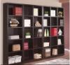 Melamine chipboard bookshelf