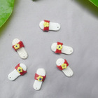 23*12mm polymer clay slipper | shoe accessories