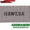 woven wash care label