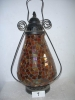 antique imitation home decoration elegant mosaic glass lamp
