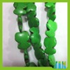 fashion green smooth turquoise bead