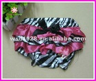 Satin ruffle bloomers for babies