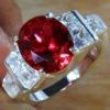 Hot selling men's silver rings