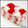 Wedding Soap rosy flower FZ