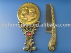 lovely pocket mirror with comb