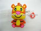 Custom rubber usb flash drive ,2D/3D Cartoon character usb