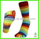 5 Toe Yoga Socks With Non-slip Dot
