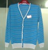 Men's cardigan knitted sweater