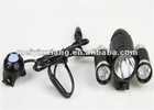 TrustFire 3 Heads 1xCREE XML T6 +2x CREE XP-E R2 1800LM 3-Mode with Battery Pack and Charger Cree XML T6 Led Bicycle Light