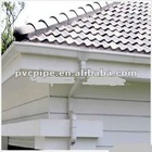 pvc gutter and downspout system
