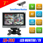 Wholesale multifunctional 7 inch' tft cctv monitor