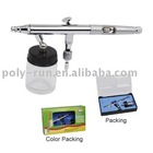 2012 New design 0.3mm 0.5mm 0.8mm 22cc Dual-Action Airbrush painting airbrush(PR-182)