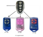 ATA PTX-4 Blue/Pink garage gate remote control, ATA replacement remote opener