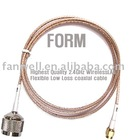 RF cable,Telecommunication cable,tv cable N to SMA-RP type with RG316 cable
