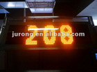bus with edit software indoor LED panel bus