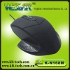 frog shape soft button design optical mouse