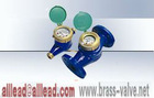 multi jet rotary vane brass water meter