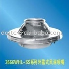 Exposed Stainless Steel Air shower nozzle