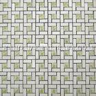 Royal Botticino Marble Mix Glass Mosaic tile